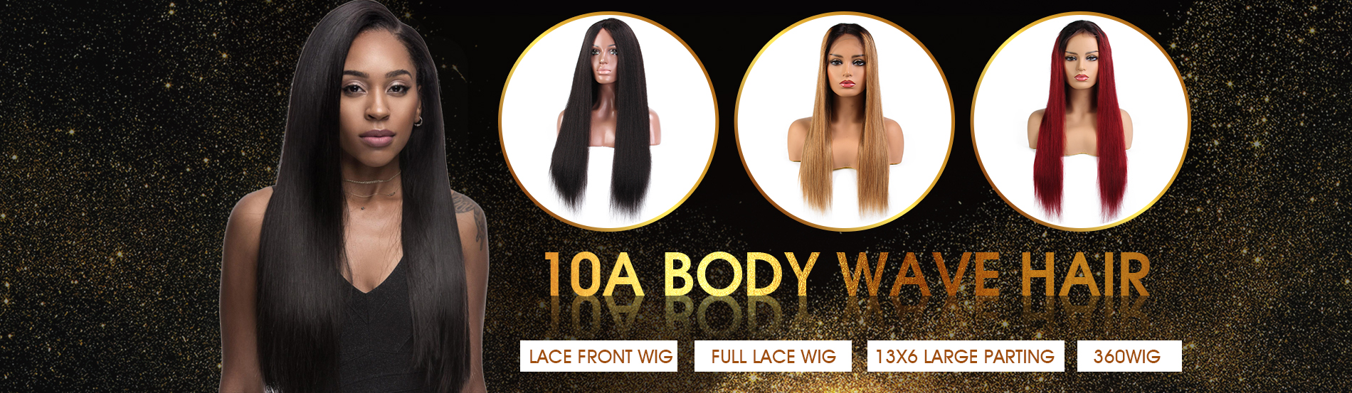 Straight Lace Wigs