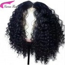 Carina Curly Lace Wigs Brazilian Virgin Human Hair Lace Wigs with Baby Hair