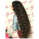 Virgin Human Hair Wigs Loose Deep Body Wave Glueless Lace Wigs Pre Plucked Hairline