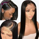 4x4 Closure Wig 18-28 Inch Lace Wigs Brazilian Human Hair Pre Plucked with Baby Hair