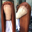 Virgin Hair Lace Front Wigs Silky Straight Full Lace Wigs Pre Plucked Hairline for Black Women