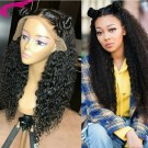 Brazilian Water Wave Human Hair Lace Wigs with Baby Hair Pre Plucked Hairline