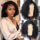 Human Hair Full  Lace Wigs Glueless Lace Wigs With Baby Hair Bob Wigs