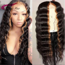 Remy  Human Hair Full Lace Wigs with Baby Hair Pre Plucked Hairline