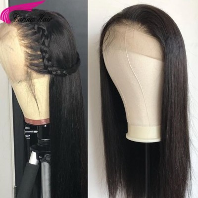 Full Lace Wigs Straight Human Hair Lace Front Wigs 180% Density