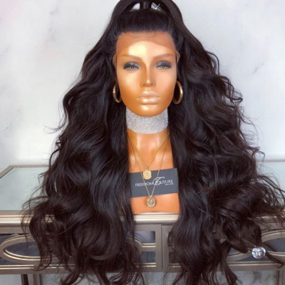 Wave Lace Front Wigs Brazilian Remy Human Hair Full Lace Wigs with Baby Hair