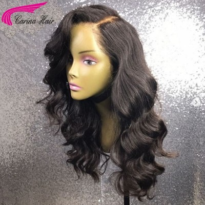 Brazilian Remy Human Hair Full Lace Wigs Wave 13x6 Deep Part Lace Front Wigs 130%