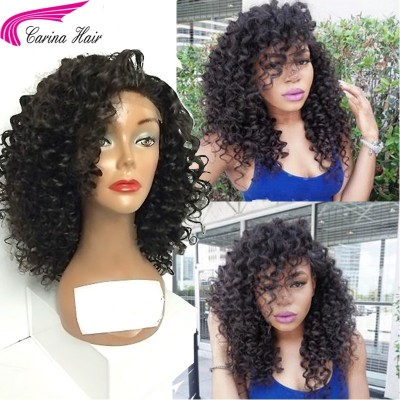 Lace Front Human Hair Wigs For Black Women Curly Brazilian Remy Hair Lace Wigs