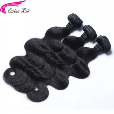 Carina Body Wave 10A Brazilian Hair Weave 3 Bundles Real Human Hair Extensions