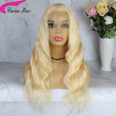 Body Wave Blonde Human Hair Wigs Body Wave 613 Lace Wigs for Women
