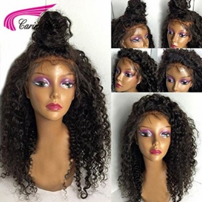 Kinky Curly Wigs Human Hair Full Lace Wigs for Black Women