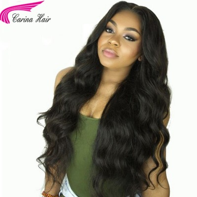 Body Wave Full Lace Wig Brazilian Remy Human Hair Lace Front Wigs Pre Plucked Hairline
