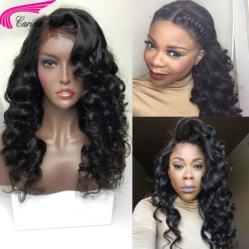 130% Wave Lace Front Wig Brazilian Human Hair Full Lace Wigs 13x6 Deep Part Lace Frontal Wig