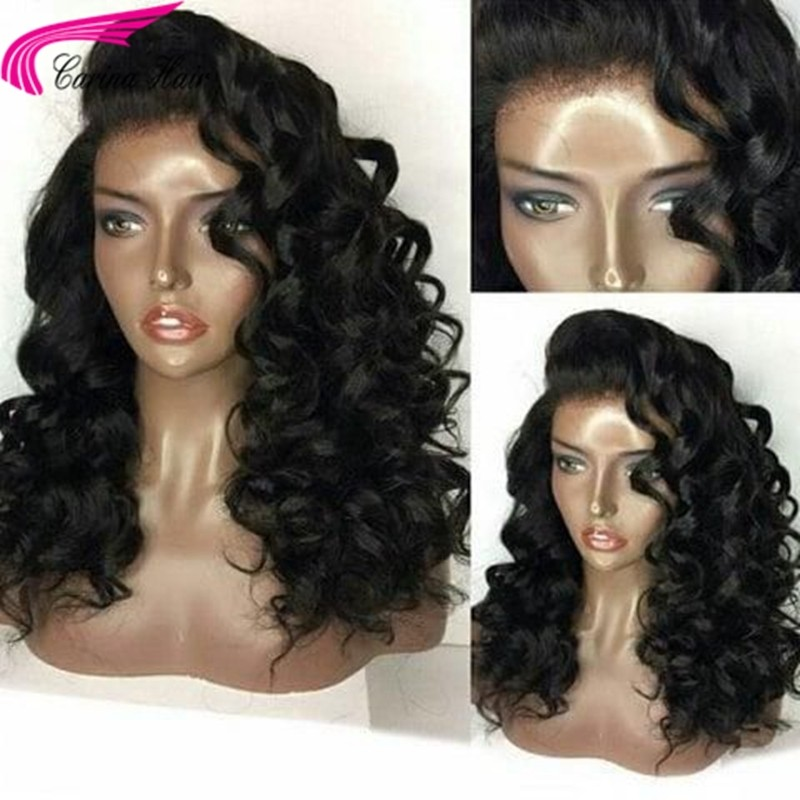 Wave 360 Lace Frontal Human Hair Wigs with Baby Hair for Women