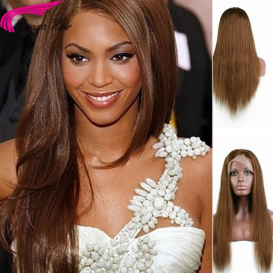 Brazilian Straight Hair Lace Front Wigs with Baby Hair Remy Human Hair Wigs Pre-plucked Natural Hairline 30# Glueless Wig