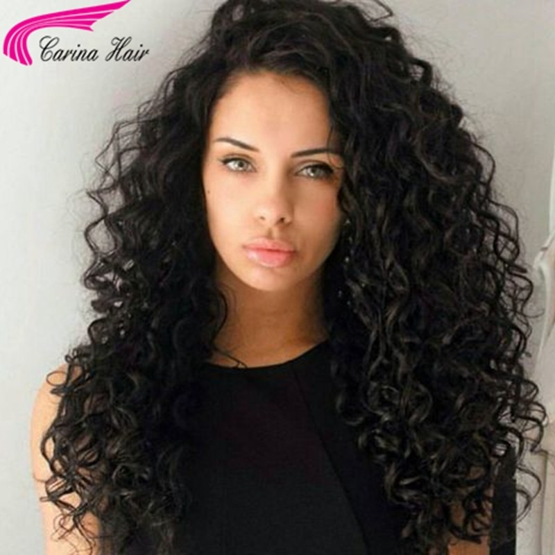 Loose Curly 13*6 Deep Part Lace Front Wig High Remy Human Hair Lace Wigs with Baby Hair