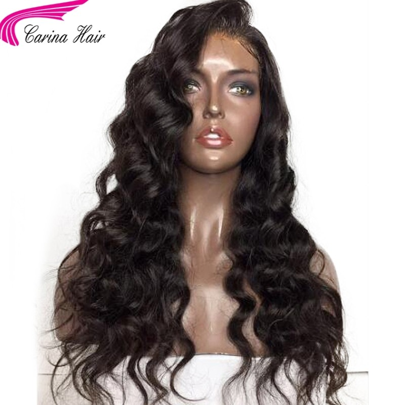 Brazilian Remy Body Wave Human Hair Lace Wigs with Baby Hair for Women