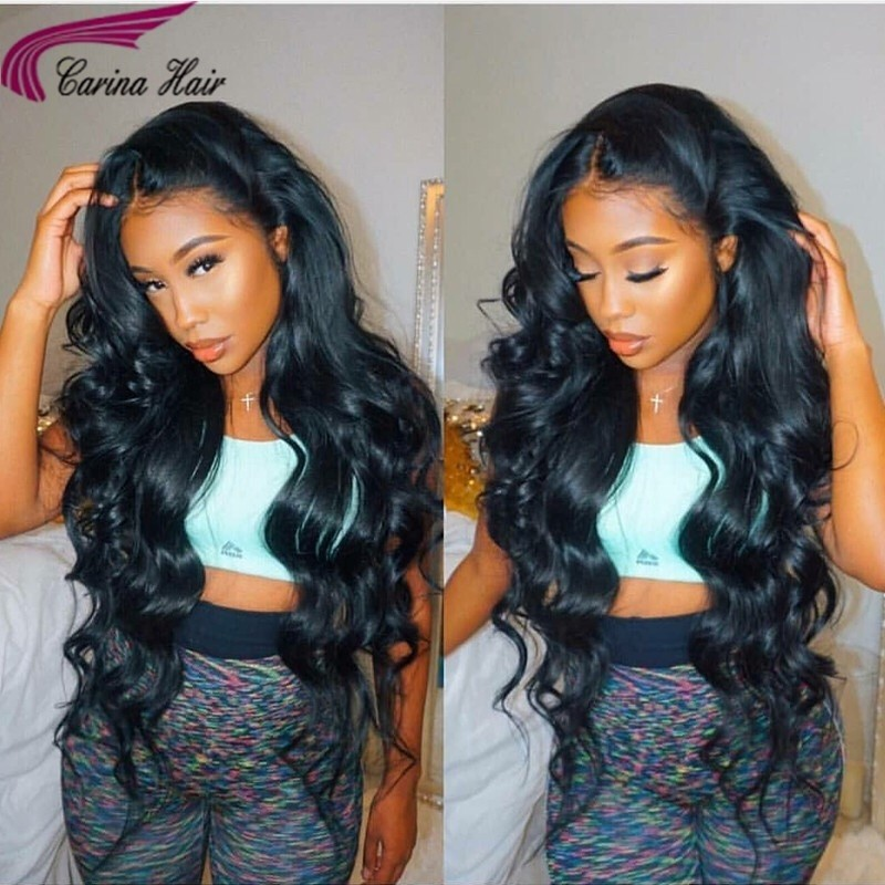 Lace Front Human Hair Wigs With Baby Hair Body Wave Full Lace Wig Brazilian Hair Wigs For Black Women