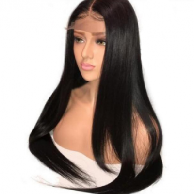 Straight Lace Front Human Hair Wigs with Baby Hair