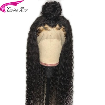 Curly Lace Front Wigs Brazilian Virgin Human Hair Full Lace Wig With Baby Hair