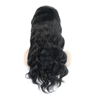 Carina Virgin Hair Lace Front Wigs Wave Human Hair Wigs For Black Women with Baby Hair