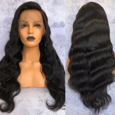 Carina Body Wave Brazilian Human Hair Wigs with Baby Hair Pre-Plucked Hairline