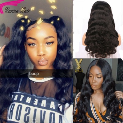 Glueless Brazilian Hair Body Wave Lace Wig Human Hair Wigs for Black Women Natural Hairline