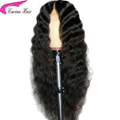 Wave Human Hair Wigs 13x6 Deep Part Lace Frontal Wigs Pre Plucked Hairline