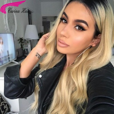 #1b/613 Color Lace Wigs Best Brazilian Remy Human Hair Wigs For African Americans