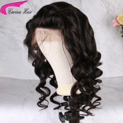 Carina Loose Wave Wigs Brazilian Remy Human Hair Lace Wigs for Women