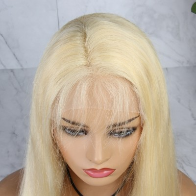 613 Color 13x6 Lace Frontal Wigs Brazilian Remy Human Hair Wigs for Women