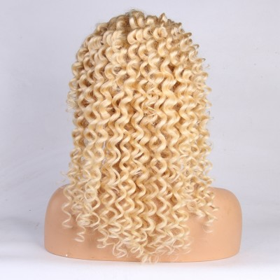 Deep Wave 613 Wig Brazilian Remy Human Hair Lace Front Wigs