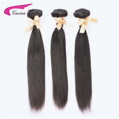 3 Bundles Silky Straight Hair Extensions Deals 100% Human Hair Weave