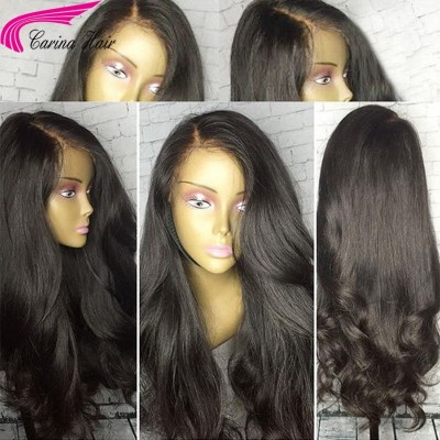 Brazilian Remy Loose Wave Human Hair Lace Wigs with Baby Hair for Black Women 130%